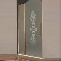 Samo Eterna Душевая дверь 140 см бронза