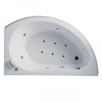 Vagnerplast Corona Ванна акриловая асимметричная (L/R) 160x100