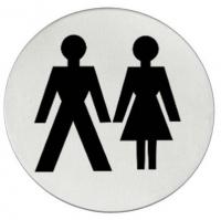 Vsi Sanitary «Женщины/мужчины» - Matt Steel Информационая таблич
