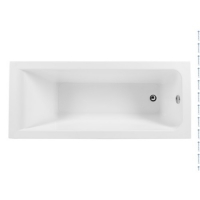 Aquanet Bright Ванна акриловая 165x70
