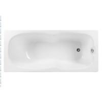 Aquanet Riviera Ванна акриловая 170x75