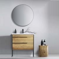 Aqwella 5 звезд Fargo FRG0108DB Мебель для ванной 80 см, дуб бал