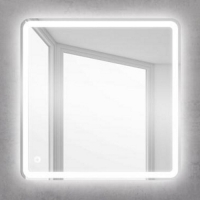 BelBagno SPC-MAR-600-600-LED-BTN Зеркало с подсветкой 60x60 см