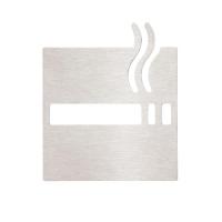 """Bemeta 111022012 Информационная табличка """"Курящая зона"""", хром"""