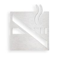 "Bemeta 111022052 Информационная табличка ""Курить запрещено"", хро"