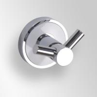 Bemeta Trend-i 104106038 Крючок двойной, хром;белый