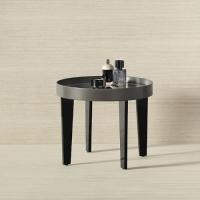 Burgbad Diva 2.0 Стол 500х500х450 мм, Цвет черный глянц