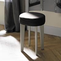 Burgbad Diva 2.0 Табуретка, сиденье из иск кожи темно коричневое