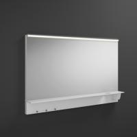 Burgbad Eqio Зеркало с полкой 1200х769х150 мм, белый F2009