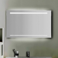 Burgbad Зеркало с подсветкой 900х640х25 мм