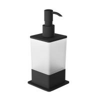 Excellent Riko Дозатор жидкого мыла настольный (черный)