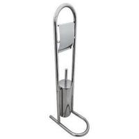 G-TEQ Ершик туалетный напольный на стойке, с держателем для ТБ (