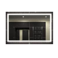 Эстет Kare Mercury Led Зеркало с подсветкой 100 см