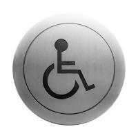 Nofer 16724.2.S «санузел для инвалидов» Информационная табличка