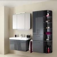 Pelipal Pineo Мебель для ванной 92 см, антрацит