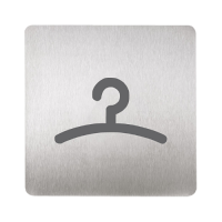 Sanela SLZN 44G Информационная табличка «гардероб»
