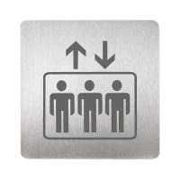 Sanela SLZN 44K Информационная табличка «зал ожидания»