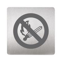 Sanela SLZN 44N Информационная табличка «запрещение открытого ог