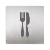 Sanela SLZN 44U Информационная табличка «вилка и нож»