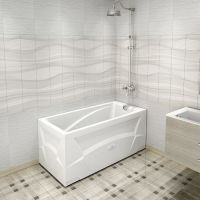 Wachter Орнела Гидромассажная ванна 150x70