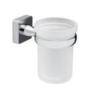WasserKRAFT Leine K-6528 Стакан для зубных щеток, хром