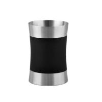 WasserKRAFT Wern K-7528 Стакан для зубных щеток, черный;хром